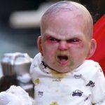 Επικό βίντεο με το διαβολεμένο μωρό
