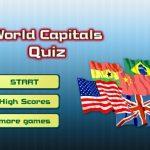Βρες την πρωτεύουσα – World Capitals Quiz – Παιχνίδι κουιζ